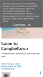 Mobile Preview of campbeltown.org.uk